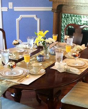 Elegant Comfort - Gourmet Breakfast