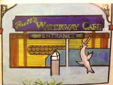 Brett's Waterway Cafe'